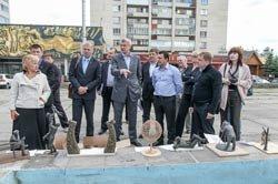 Глава Нижнего Тагила утвердил план реконструкции сквера расположенного у центрального фонтана