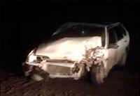 Авария - ВАЗ-21093 врезался в грузовик Алтай