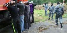 ФМС  при поддержке бойцов ОМОН провела рейд по выявлению нелегалов