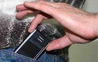 Задержали за кражу телефона по горячим следам