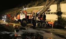 В Екатеринбурге выгорел склад на Черняховского 86