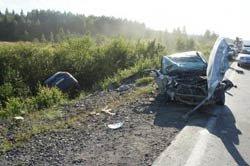 ДТП на 122 км серовской трассы, 1 человек погиб