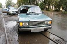ДТП с наездом на пешехода на Металлургов