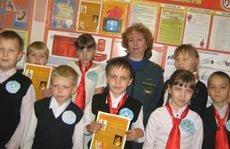 Юные пожарные из школы №87
