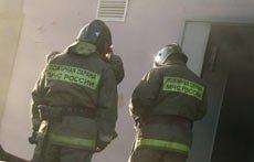 Ночью на Кирпичном поселке был потушен небольшой пожар