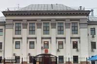 В Киеве неизвестные обстреляли посольство России с помощью фейерверка