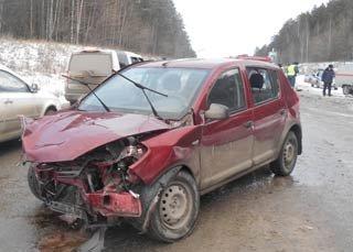 30 ноября под Первоуральском погиб водитель ВАЗ-2106