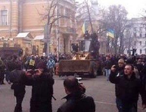 На Украине началась новая революция, на этот раз