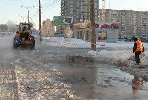 На Вагонке более 10 тысяч человек остались без холодной воды из-за аварии на водоводе