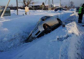 В ДТП на 132 км автотрассы Екатеринбург - Серов 22 декабря пострадали 3 человека