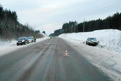 В ДТП на 152 км серовской трассы пострадали 2 человека