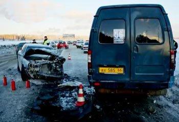 В ДТП на Вагонке с участием Газели пострадали 3 человека