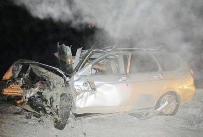На 129 км трассы Екатеринбург - Тюмень погиб человек