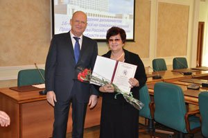 Торгово-экономический колледж удостоен правительственной награды