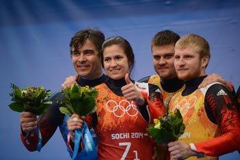 По итогам очередного дня соревнований в Сочи наша сборная завоевала серебро и бронзу