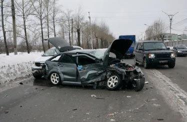 На Восточном шоссе произошло ДТП с участием трёх автомобилей