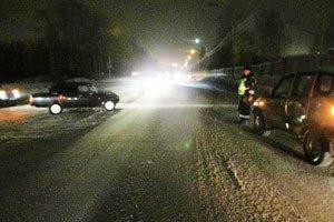 На пересечении Восточного шоссе и улицы Автомобилистов произошло ДТП, пострадали 2 человека