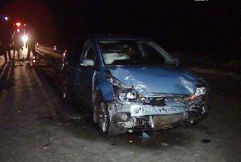 Автоледи на Москвиче устроила аварию на Варшавской в Екатеринбурге