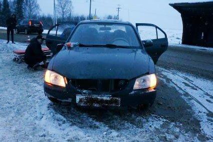 Водитель Хундай Акцент сбил пенсионерку в селе Николо-Павловское