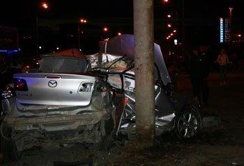 В ДТП на Космонавтов в Екатеринбурге с участием а/м Мазда и Шкода погиб водитель