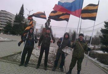 В Нижнем Тагиле прошел пикет в поддержку Путина