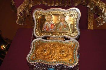 В ИК №6 Нижнего Тагила осуджденные смогли приложиться к святым мощам