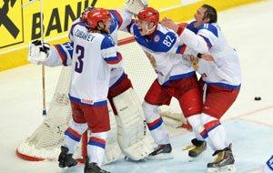 Российские хоккеисты победили финнов со счётом 5:2 и завоевали звание чемпионов мира по хоккею