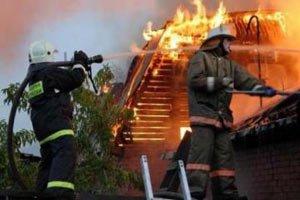 Во время пожара в коллективном саду УВЗ мужчина получил ожог 10% поверхности тела