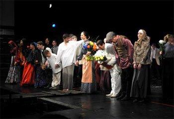 Последний спекталь сезона 2013-2014 года в Драматическом театре Нижнего Тагила