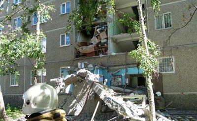 В Екатеринбурге на улице Сыромолотова произошел взрыв в жилом доме