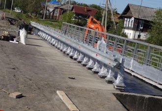 В Горбуново достроили новый автомобильный мост