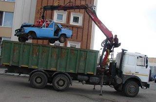 Программа по утилизации старых авто будет действовать с 1 сентября по 31 декабря 2014 года
