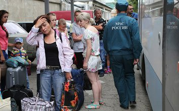В МФЦ Дзержинского района принимают беженцев с Украины