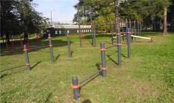 В посёлке Старатель появилась площадка для занятий воркаутом
