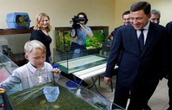Евгений Куйвашев открыл новую станцию юннатов в Екатеринбурге