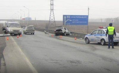 Под Челябинском погиб водитель