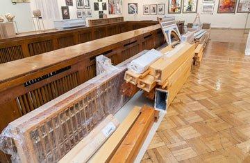 В Музее изобразительных искусств расположится старинный орган из Норвегии