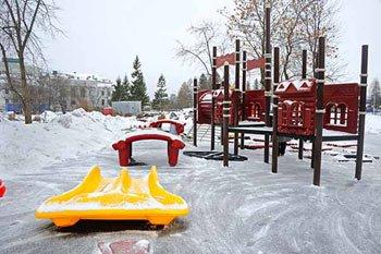 В парке ДК имени Окунева построят новый детский городок