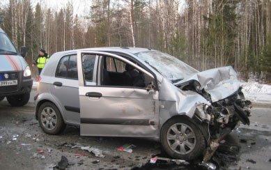 В автоаварии в районе посёлка Свободный погиб пожилой мужчина