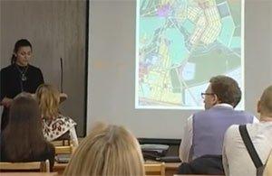 В администрации города прошли публичные слушания по проекту межевания и планировки жилого района