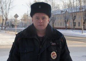 Участковый уполномоченный Александр Попов задержал грабителя на Вагонке