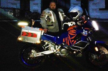Тагильский священник отец Дмитрий проехал несколько тысяч километров по Китаю на мотоцикле