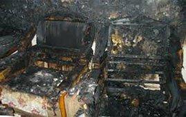 Во время пожара на улице Горошникова пострадали 3 человека