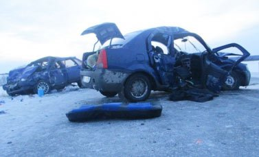 В ДТП под Алапаевском погиб водитель ВАЗа, пятеро пострадали
