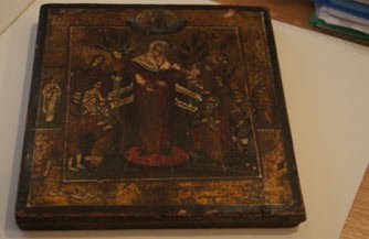 В Нижнем Тагиле скупщик антиквариата украл старинную икону у пенсионера