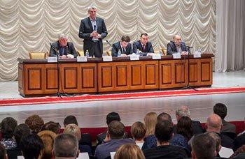 В ДК Окунева прошла встреча мэра города с жителями Вагонки