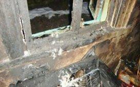 В Верхотурье выгорела квартира, погибли три человека