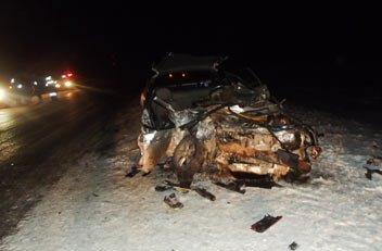 На 285 км тюменского тракта погиб пассажир ВАЗа