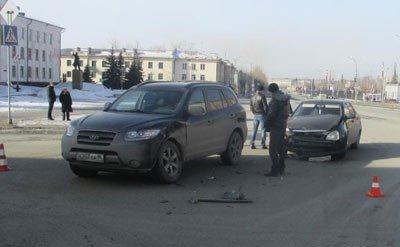 В ДТП на Вагонке пострадал несовершеннолетний пассажир внедорожника