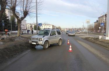В ДТП на Вагонке пострадал пешеход